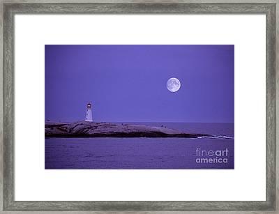 Lighthouse, Peggys Cove Framed Print by Novastock
