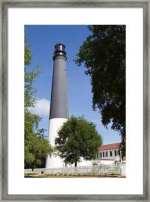 Lighthouse Pensacola Framed Print