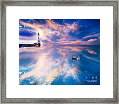 Lighthouse Framed Print by Jacky Gerritsen