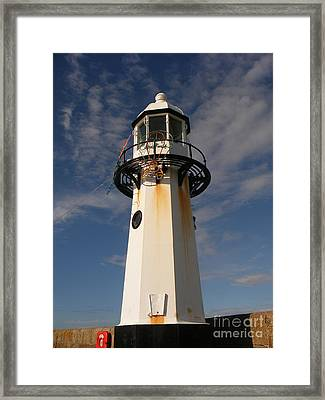 Lighthouse  Framed Print by Pixel  Chimp