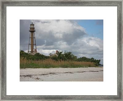 Sanibel Island Light Framed Print by Christiane Schulze Art And Photography