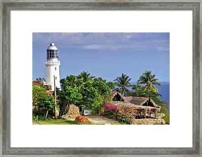 Lighthouse Santiago De Cuba Framed Print by Lynn Bolt
