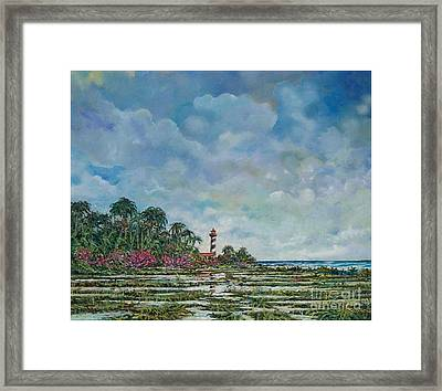 Lighthouse Framed Print by Sinisa Saratlic