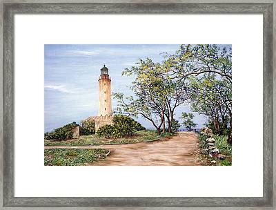 Lighthouse Framed Print by Victor Collector