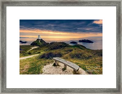 Lighthouse View Framed Print