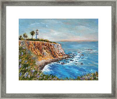 Lighthouse View Framed Print by Jennifer Beaudet