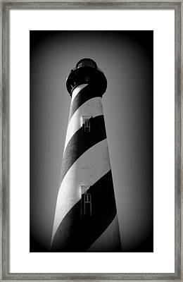 Lighthouse Viiii Framed Print by Rebecca West