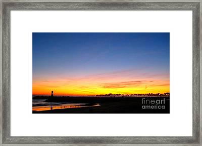 Framed Print featuring the photograph Lighthouse4 by Theresa Ramos-DuVon