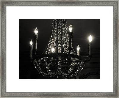 Lighting The Dark Framed Print by Paulette Maffucci