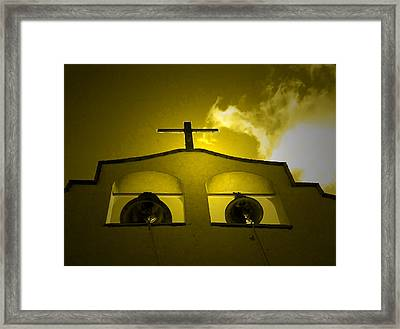 Lighting The Way Framed Print by Anne Mott