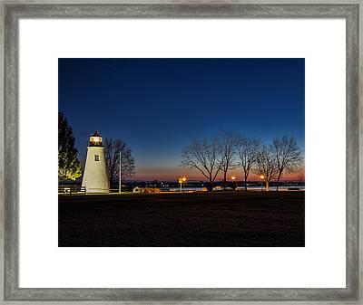 Lighting Up The Morning Framed Print by Deborah Felmey