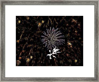 Lighting Up The Sky Framed Print by Aimee L Maher Photography and Art Visit ALMGallerydotcom