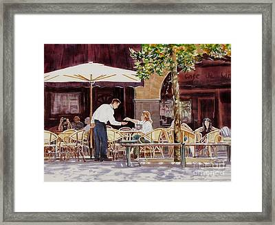 Light_in_limoux Framed Print by Nancy Newman