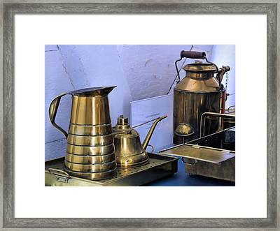 Lightkeepers Equipment Framed Print