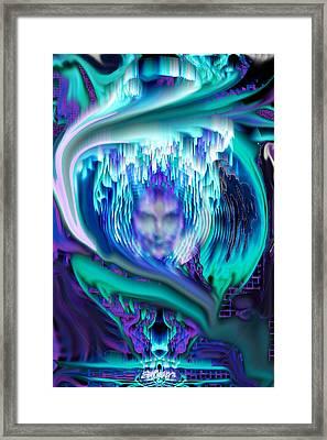 Lightning In A Jar Framed Print by Seth Weaver