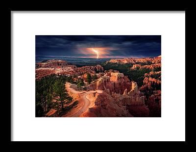 Thunder Framed Prints