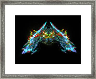 Lightning Storm Framed Print by Bruce Nutting