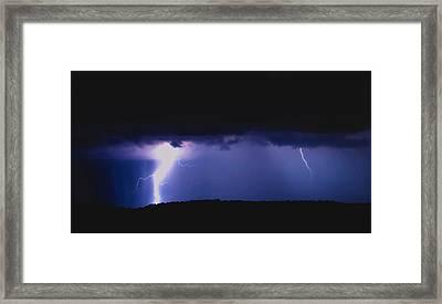 Lightning4 Framed Print