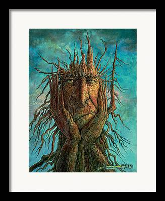 Treetch Framed Prints