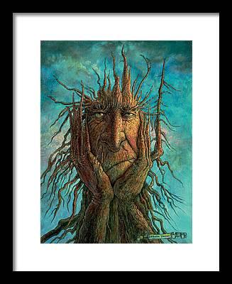 Depressed Framed Prints