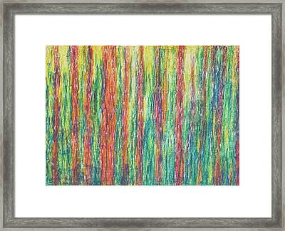 Framed Print featuring the painting Lightpicture 347 by SOBATA Satosi