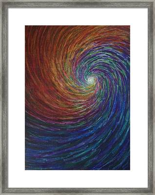Framed Print featuring the painting Lightpicture 356 by SOBATA Satosi