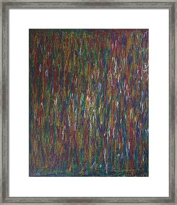 Framed Print featuring the painting Lightpicture 358 by SOBATA Satosi