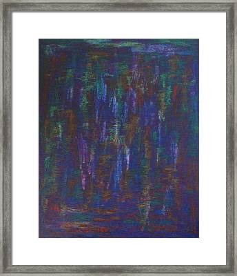 Framed Print featuring the painting Lightpicture 364 by SOBATA Satosi