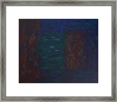 Framed Print featuring the painting Lightpicture 367 by SOBATA Satosi