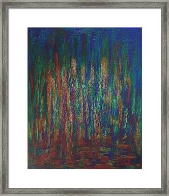 Framed Print featuring the painting Lightpicture 368 by SOBATA Satosi