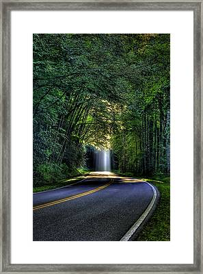 Stairways To Heaven The Great Smoky Mountains Framed Print by Reid Callaway