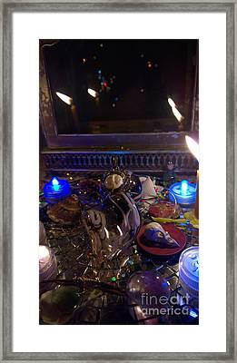 A Wishing Place 3 Framed Print