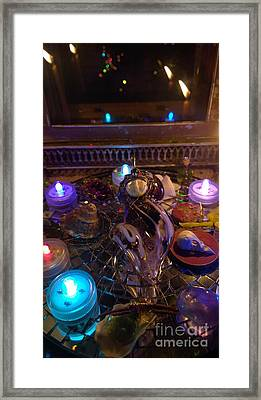 A Wishing Place 4 Framed Print
