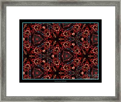 Lights Abstract 1 Framed Print by Rose Santuci-Sofranko