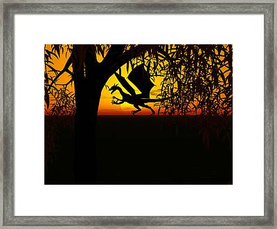 Lights And Shadow Framed Print