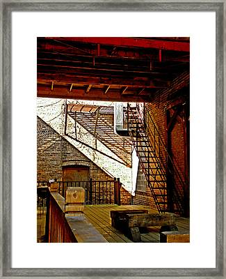 Lights And Shadows Framed Print