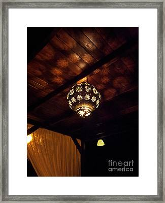 Framed Print featuring the photograph Lights And Shadows by Linda Prewer