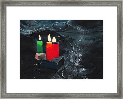 Lights Framed Print by Anil Nene