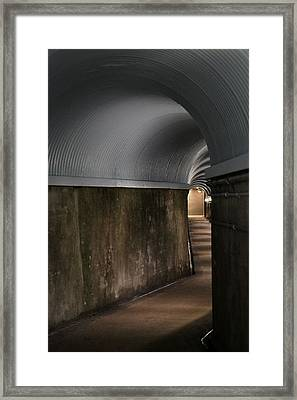 Lights At The End Of The Tunnel Framed Print