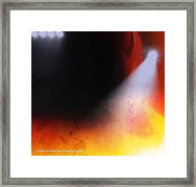 Lights Framed Print by Frank Sciberras