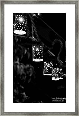 Lights Framed Print by Gandz Photography