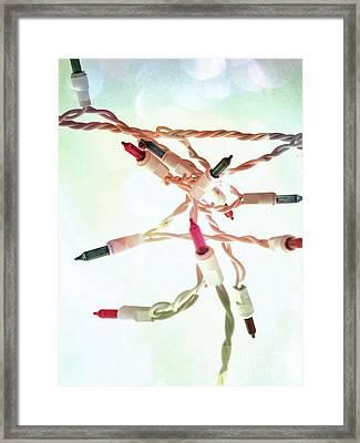 Lights Framed Print by Jennifer Kimberly