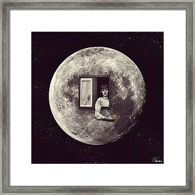 Lights Out Framed Print