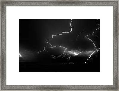 Lights Over The Gulf Framed Print by David Lee Thompson