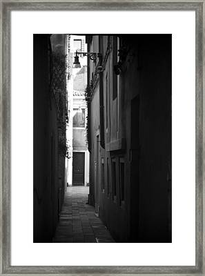 Light's Passage - Venice Framed Print