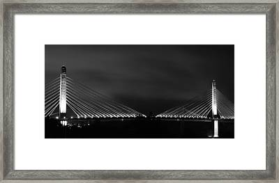 Framed Print featuring the photograph Lights by Paul Noble