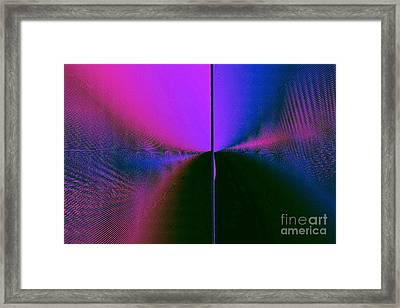 Light's Triumph Over Darkness Framed Print by JCYoung MacroXscape