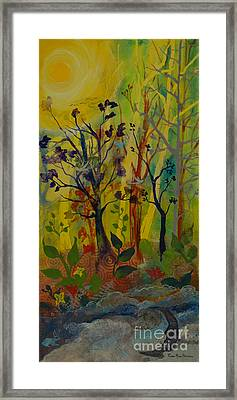 Light's Wonderful Secret Framed Print by Robin Maria Pedrero