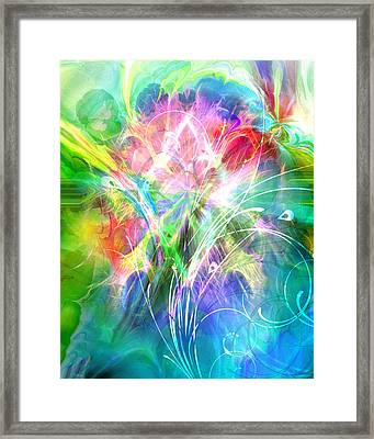 Lightsinfonia Framed Print