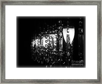Framed Print featuring the photograph Lightwork by Clare Bevan